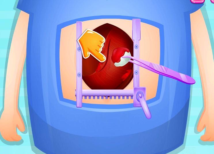 Игры для девочек операции для похудения